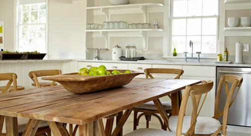 Goodbye, Island. Hello, Kitchen Table (12 photos)