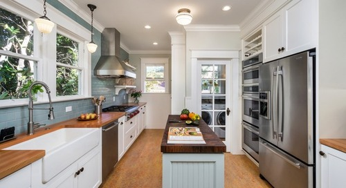 8 Narrow Kitchen Islands With Function to Spare (8 photos)