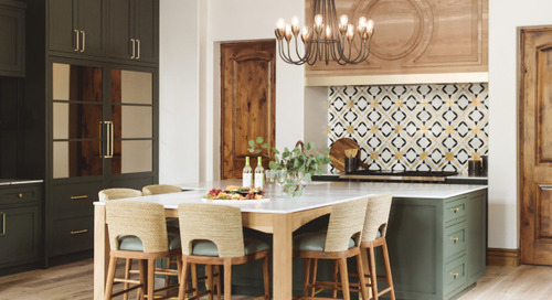 Mediterranean-Style Kitchen Gets a Bold Makeover (8 photos)