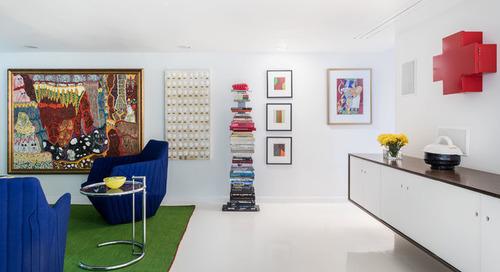 Houzz Tour: A Designer's Art Moderne Home — Emphasis on the Art (23 photos)