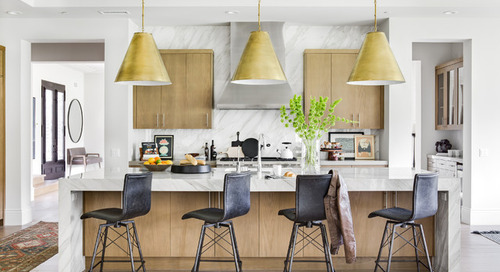 A Bit of Old and Tons of Bold for a New Kitchen (5 photos)
