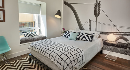 Guest Room Welcomes Visitors to San Francisco (6 photos)