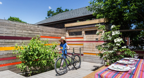 Patio of the Week: Vibrant Color Enlivens a Toronto Courtyard (12 photos)
