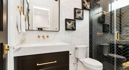 6 Small Bathrooms With Dramatic Walk-In Showers (6 photos)