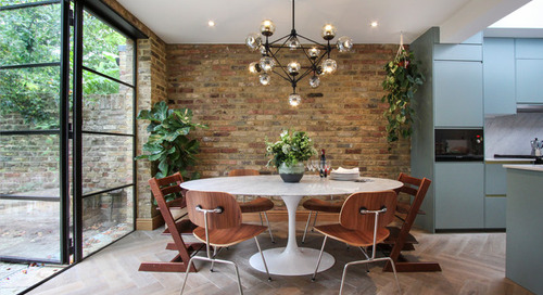 Houzz Tour: Cool Hues and Natural Materials Update a London House (22 photos)