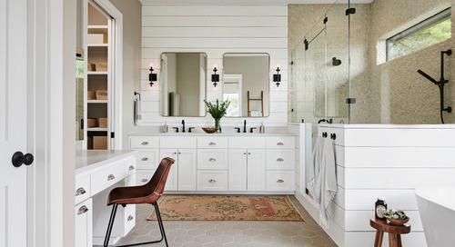 Your Guide to a Farmhouse-Style Bathroom (12 photos)