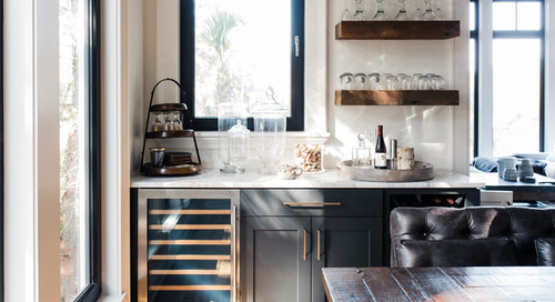 Raise a Glass to the Most Popular Home Bars of 2019 (10 photos)