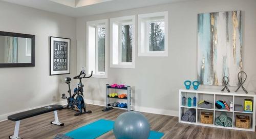 10 Elements of an Inspiring Home Gym (11 photos)