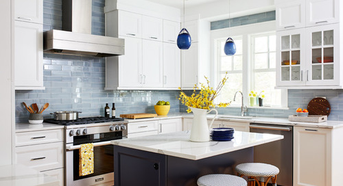14 Bright Ideas for Adding a Little Color to Your Kitchen (19 photos)