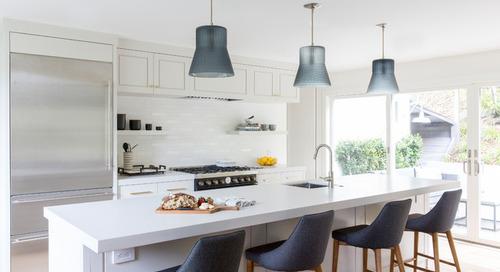 A Modern Farmhouse Kitchen, With an Emphasis on 'Modern' (5 photos)