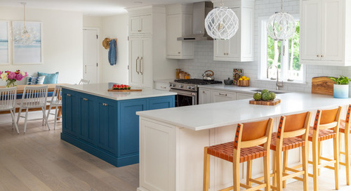 Kitchen Gains Easy Beach Style for Casual Entertaining (8 photos)