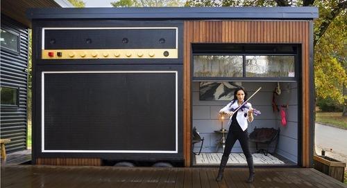 Houzz Tour: Rock Musician's Tiny House Wakes Up the Neighborhood (12 photos)