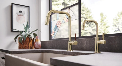 The Latest Trends in Kitchen Faucets at KBIS 2020 (19 photos)