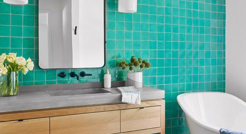 Bathroom Countertops 101: The Top Surface Materials (7 photos)
