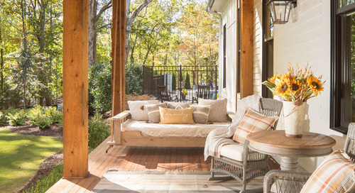 Friendly Front Porches: How to Create a Welcoming Vibe (12 photos)