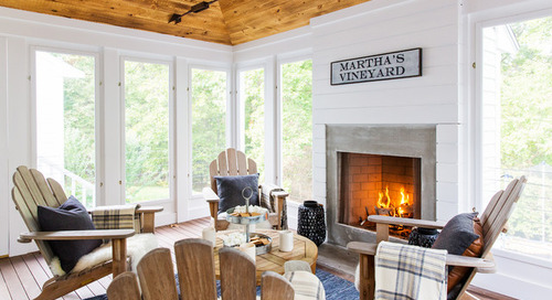 9 Cozy Sunrooms and Porches to Warm Us Up in Cold Weather (10 photos)