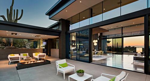 Midcentury Case Study Houses Inspire a Desert Home's Design (18 photos)