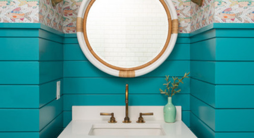 Powder Room Patterns: 10 Stylish Shiplap Looks (10 photos)