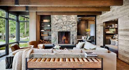 Houzz Tour: Modern Rustic Style for a Pacific Northwest Family (18 photos)