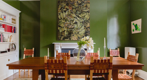 5 Dramatic Dining Room Makeovers (10 photos)
