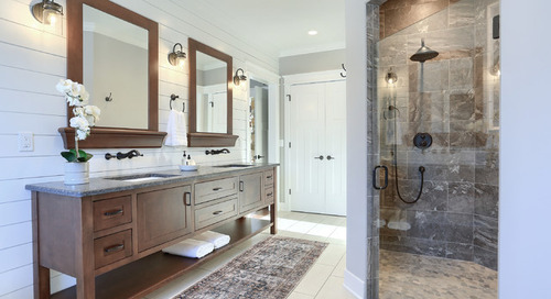 The Do's and Don'ts of Cleaning Stone in Your Shower (7 photos)
