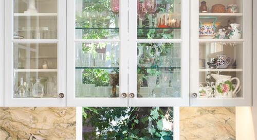 Great Idea: Windows Behind Kitchen Cabinets (5 photos)