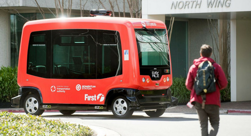 Driverless Roundup: Autonomous Shuttles Hit California, Cruise Acquires Strobe, NVIDIA's New Supercomputer, Intel & LeBron James Team Up