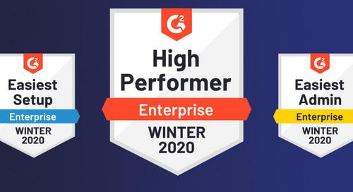 G2 Awards Jama Connect™ High Performer, Easiest Setup, Easiest Admin