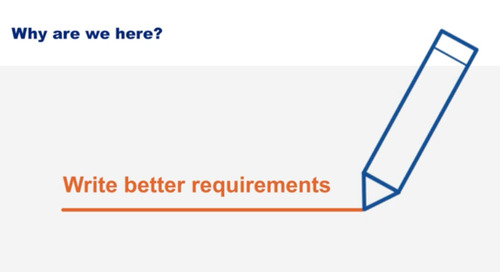 Popular now: Best Practices for Writing Requirements Webinar