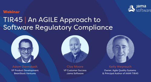 WEBINAR: TIR45 | An AGILE Approach to  Software Regulatory Compliance