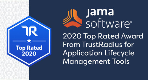 TrustRadius Names Jama Connect™ a 2020 Top-Rated Application Lifecycle Management Platform