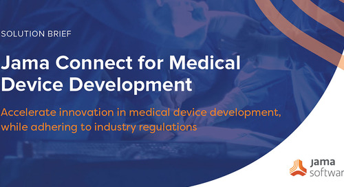 Accelerating Medical Device Development with Jama Connect