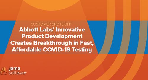 [SPOTLIGHT] Abbott Labs' Innovative Product Development Creates Breakthrough in Fast, Affordable COVID-19 Testing