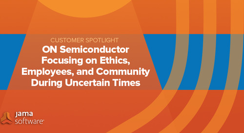 [SPOTLIGHT] ON Semiconductor Focusing on Ethics, Employees, and Community During Uncertain Times