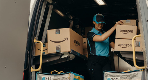 Amazon Plans Start-Up Delivery Services for Its Own Packages
