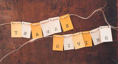 Teaching Thanksgiving through Jesus' Example