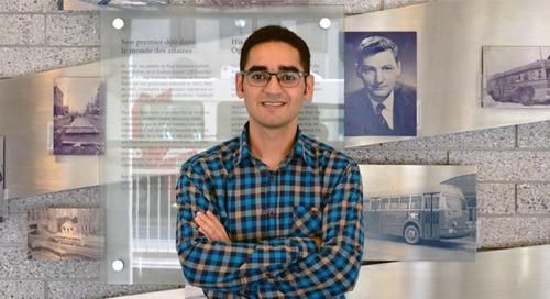 Doctorant à l'honneur : Afshin Kamyabniya