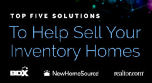 5 Solutions To Help Sell Your Inventory Homes Before The End Of The Year
