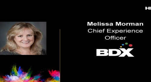 HMX Summit 2018 – Melissa Morman Opening & Welcome