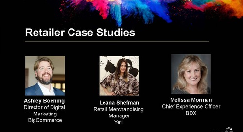 HMX Summit 2018 – Retailer Case Studies