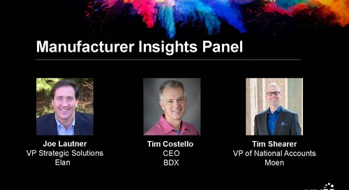 HMX Summit 2018 – Manufacturer Insights Panel