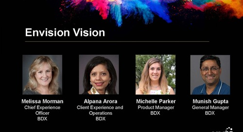 HMX Summit 2018 – Envision Vision Panel