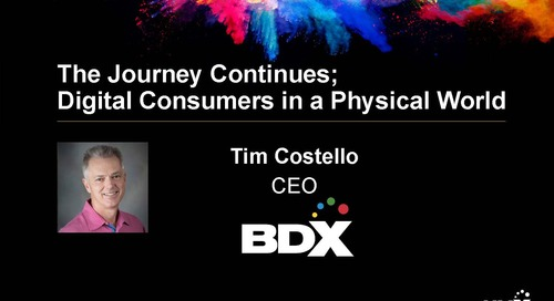HMX Summit Keynote 2018 – Tim Costello