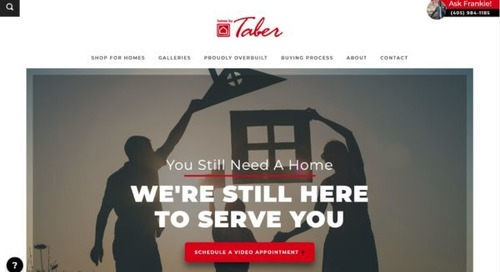Builders Doing Amazing Things…Homes by Taber Record Sales = Record Donations To Charity