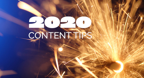 Top Content Tips To Ring In The New Year