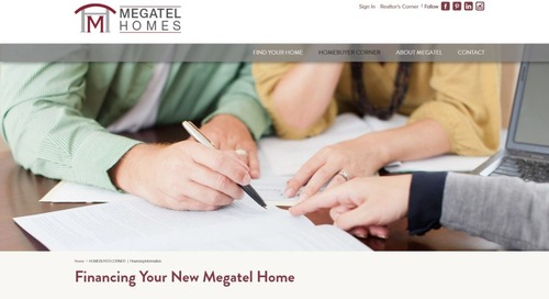 Builders Doing Amazing Things — Megatel Builders Job Loss Protection Program Gives Shoppers Confidence