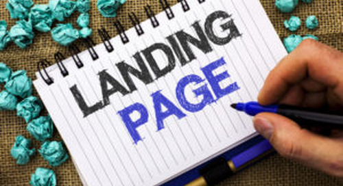 The recipe for a strong landing page