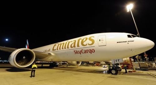 Emirates SkyCargo adds Glasgow to its network as it expands cargo connectivity to 100 destinations