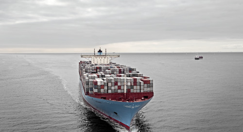 Speed reduction plan favours old, inefficient ships, says Maersk