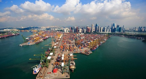 Fewer transhipment boxes being 'rolled' as capacity returns to major trades